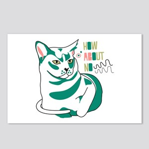 Burmese cat how about no Postcards (Package of 8)