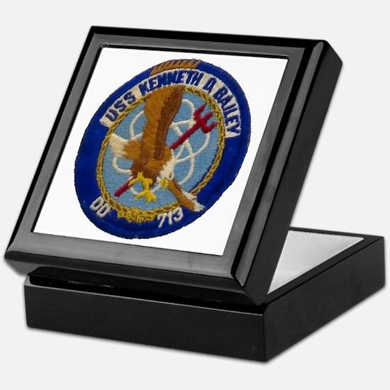 USS KENNETH D. BAILEY Keepsake Box