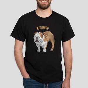 bulldog with text Dark T-Shirt