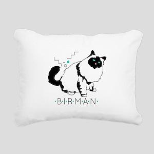 Birman cat Rectangular Canvas Pillow