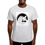 Saw Blade Rex Ash Grey T-Shirt