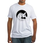 Saw Blade Rex Fitted T-Shirt