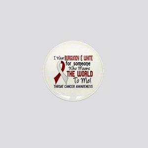 Throat Cancer MeansWorldToMe2 Mini Button