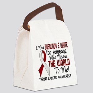 Throat Cancer MeansWorldToMe2 Canvas Lunch Bag