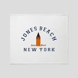 Jones Beach Throw Blanket