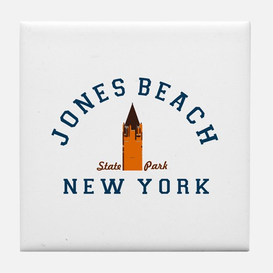 Jones Beach Tile Coaster