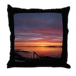 4/2 Sunrise Throw Pillow