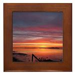 4/2 Sunrise Framed Tile