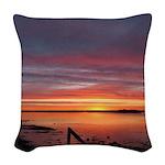 4/2 Sunrise Woven Throw Pillow