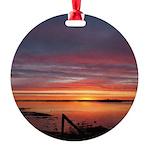 4/2 Sunrise Round Ornament