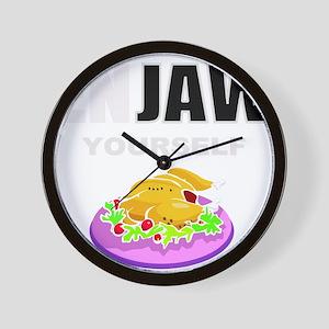 Funny food Wall Clock