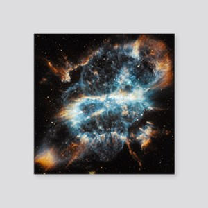 "galaxy stars nebula space p Square Sticker 3"" x 3"""