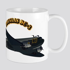 Douglas DC-3 With Text Mug