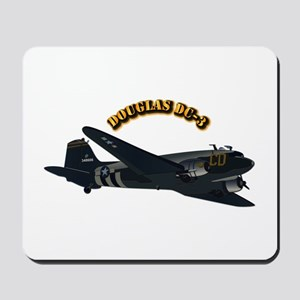 Douglas DC-3 With Text Mousepad