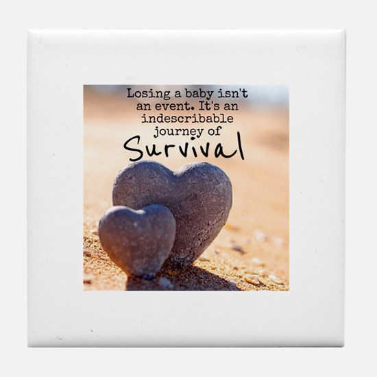 Infant Loss Quote Tile Coaster