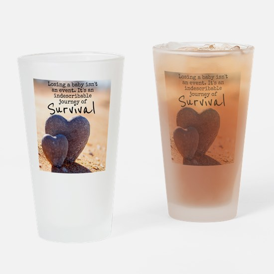Infant Loss Quote Drinking Glass