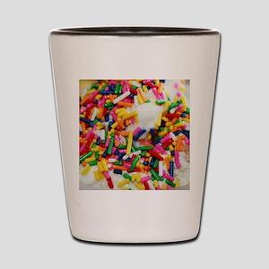candy sprinkles sweet ice cream dessert Shot Glass