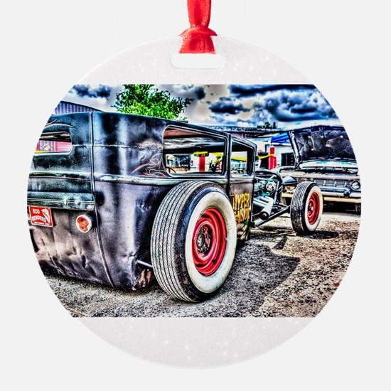 Rat rod Ornament