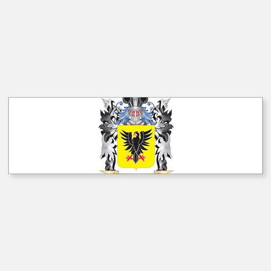 Auger Coat of Arms - Family Crest Bumper Bumper Bumper Sticker