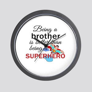 Being a Brother  Wall Clock
