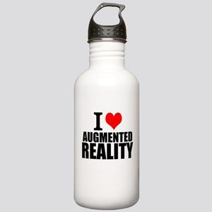 I Love Augmented Reality Water Bottle