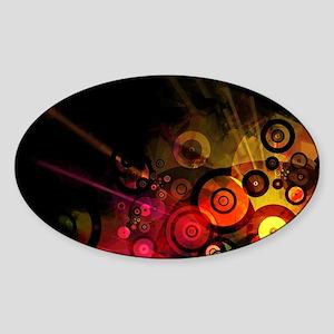 Street Urban Grunge Sticker (Oval)