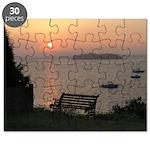 9/6 Misty Sunrise Puzzle