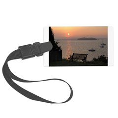 9/6 Misty Sunrise Luggage Tag