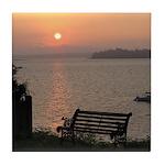 9/6 Misty Sunrise Tile Coaster