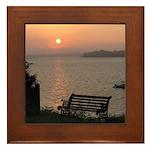 9/6 Misty Sunrise Framed Tile