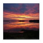 9/29 Dazzling Sunrise Tile Coaster