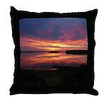 9/29 Dazzling Sunrise Throw Pillow