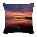 9/29 Dazzling Sunrise Woven Throw Pillow