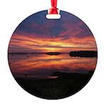 9/29 Dazzling Sunrise Round Ornament