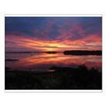 9/29 Dazzling Sunrise Small Poster