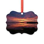 9/29 Dazzling Sunrise Picture Ornament
