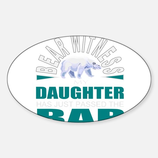 Daughter law student Decal