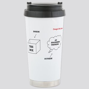 Think Outside the Box Stainless Steel Travel Mug
