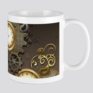 Steampunk, clocks and gears Mugs