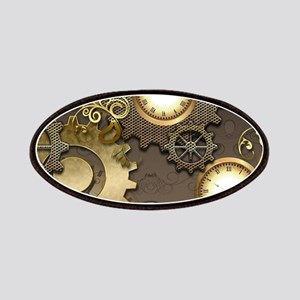 Steampunk, clocks and gears Patch