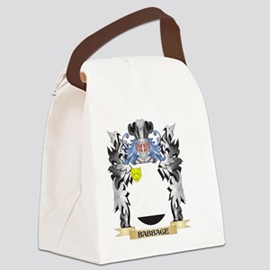 Babbage Coat of Arms - Family Cre Canvas Lunch Bag