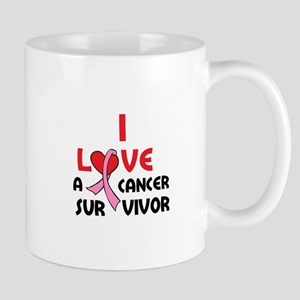 I LOVE A SURVIVOR Mugs