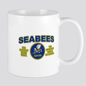 The Difficult We Do Today - Seabees Mug
