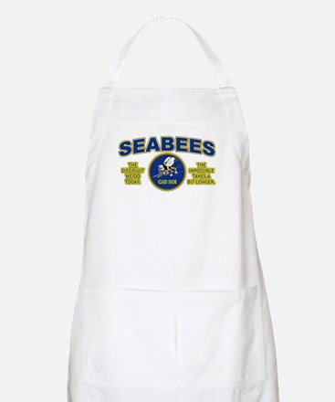 The Difficult We Do Today - Seabees Apron