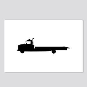 FLATBED TOW TRUCK Postcards (Package of 8)