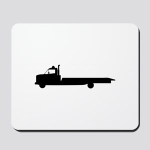 FLATBED TOW TRUCK Mousepad