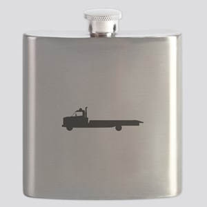 FLATBED TOW TRUCK Flask