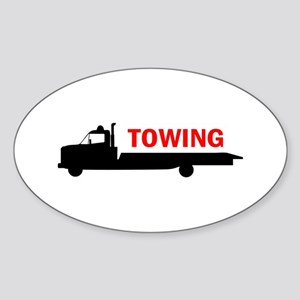 FLATBED TOWING Sticker