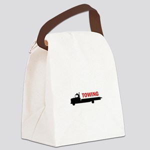 FLATBED TOWING Canvas Lunch Bag
