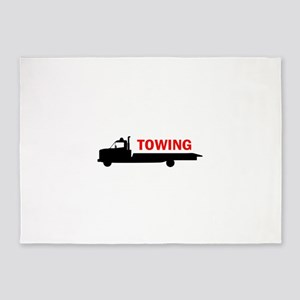 FLATBED TOWING 5'x7'Area Rug